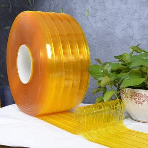 Ribbed-100-DOP-PVC-curtain-yellow-clear-300x300